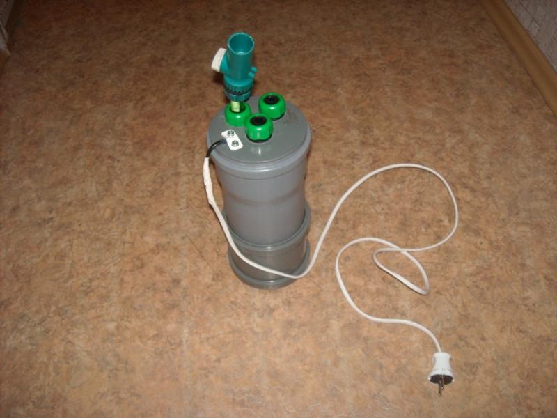 Самодельный внешний фильтр для аквариума фотоотчет собрал